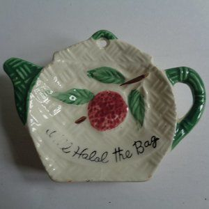 Vintage Tea Bag Holder Cherry from Japan